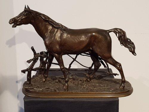 Sculpture  - Djinn - Pierre-Jules Mène (1810-1879)