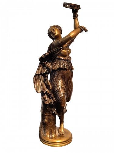 Jean Baptiste Clesinger  (1814 - 1883)  - Neapolitan dancer