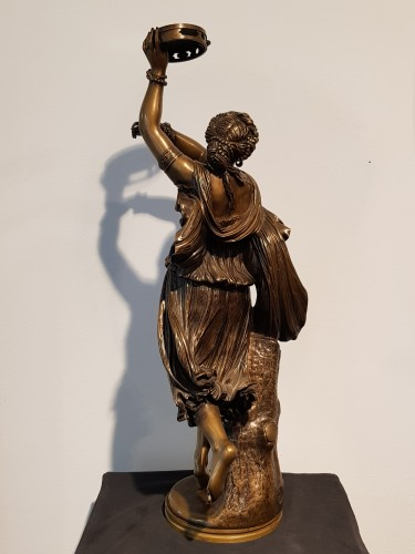 Jean Baptiste Clesinger  (1814 - 1883)  - Neapolitan dancer - Sculpture Style