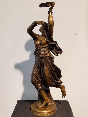 Sculpture  - Jean Baptiste Clesinger  (1814 - 1883)  - Neapolitan dancer