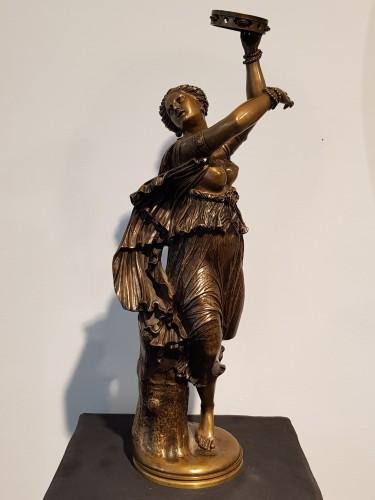 Jean Baptiste Clesinger  (1814 - 1883)  - Neapolitan dancer -