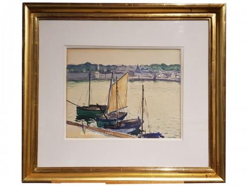 Albert MARQUET (1875-1947) - Marine