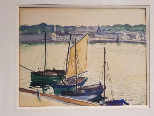 Albert MARQUET (1875-1947) - Marine -