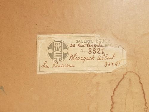 Albert MARQUET (1875-1947) - La Varenne  - Paintings & Drawings Style