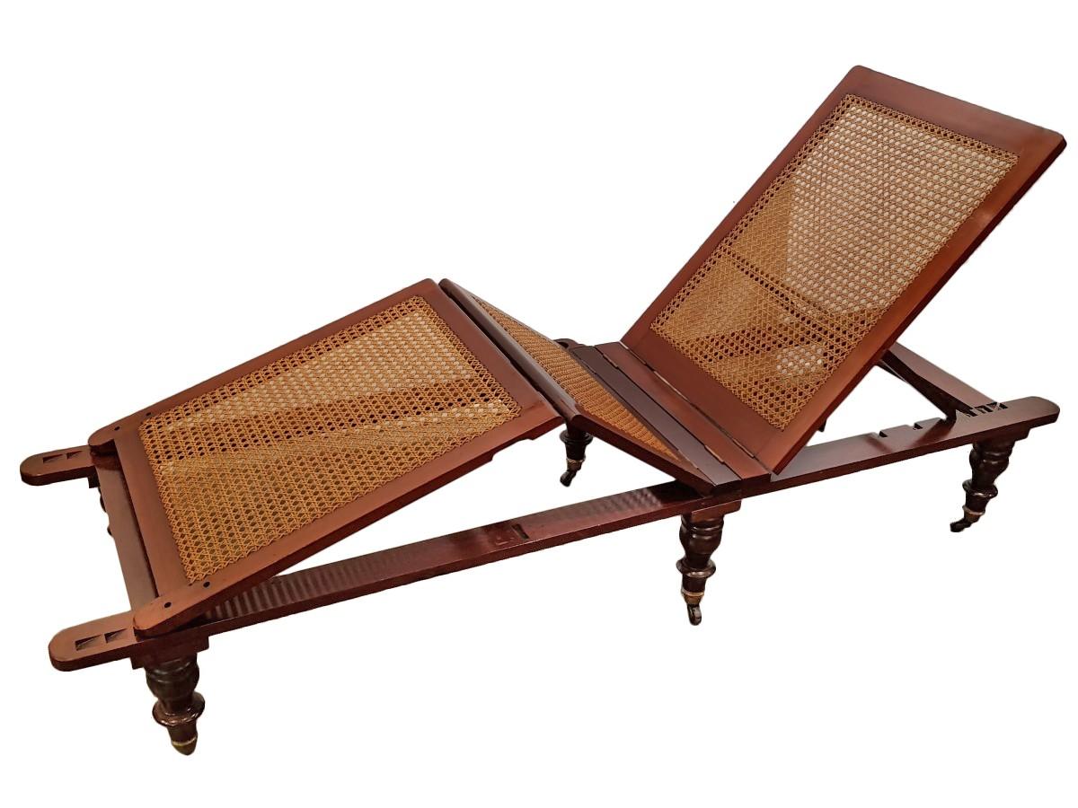 English chaise longue circa 1850 - Chaise longue in english ...