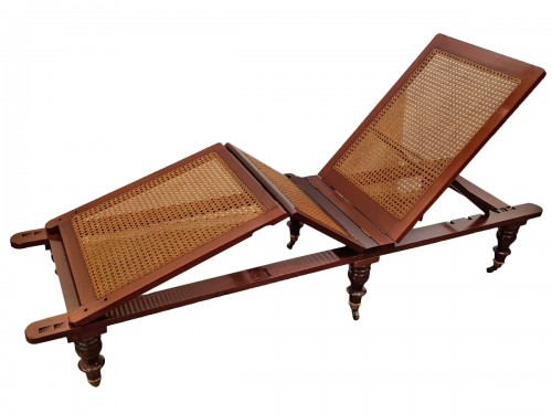 English chaise longue circa 1850