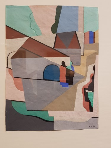Georges Valmier (1885-1937) - The village 1924 -