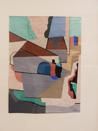 20th century - Georges Valmier (1885-1937) - The village 1924