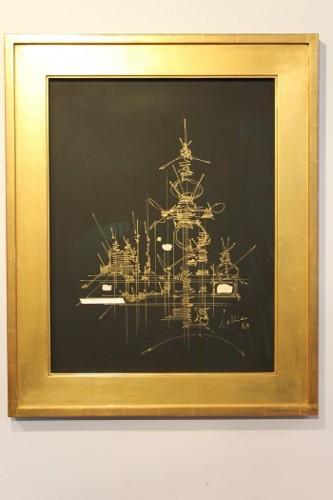 Antiquités - Scia - George Mathieu (1921-2012)