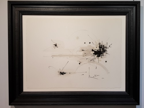 Paintings & Drawings  - George Mathieu (1921-2012) - Composition