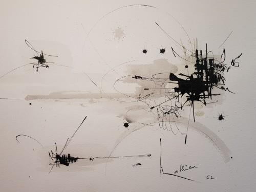 - George Mathieu (1921-2012) - Composition