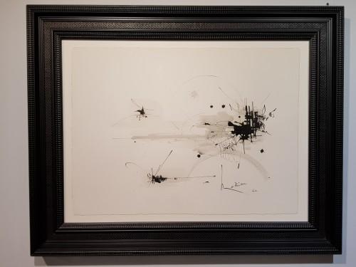 Antiquités - George Mathieu (1921-2012) - Composition