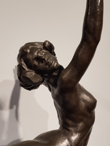 The dancer Nattova - Serge Yevyevich (1876-1969) - Sculpture Style