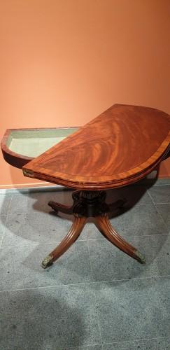 English folding table -