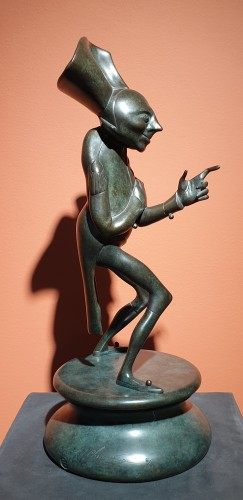 Sculpture  - Michel CHEMIAKINE (1943-) - Figure for the carnival