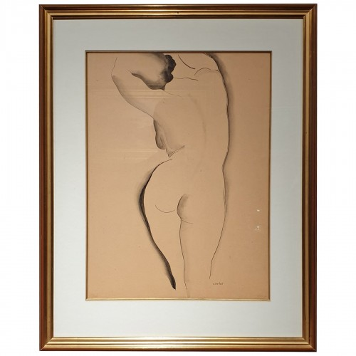 Gustave BUCHET (1888 - 1963) - Back nude