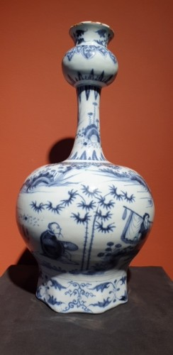 Late 17th century Delft vase - Porcelain & Faience Style