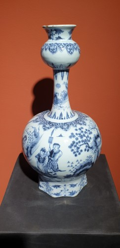 - Late 17th century Delft vase