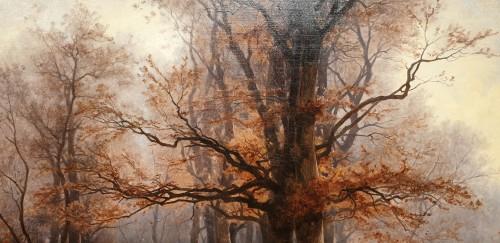 - Autumnal landscape - Eugène Gustave Castan - (1823 - 1892)