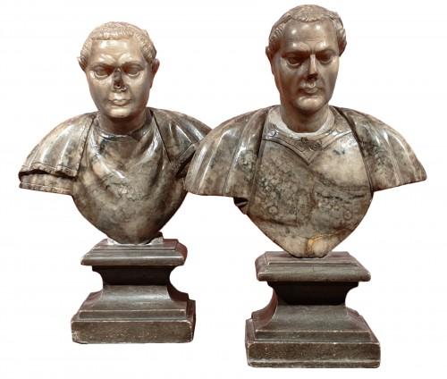 Julius Caesar and Constantine the Great - 17th century
