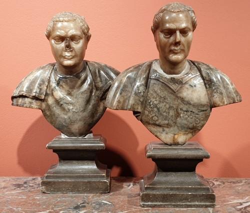 Julius Caesar and Constantine the Great - 17th century - Sculpture Style
