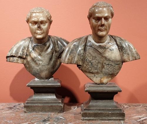 Antiquités - Julius Caesar and Constantine the Great - 17th century