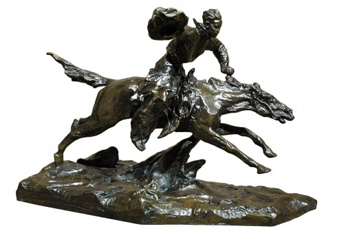 Cavalier chevauchant 1932 (rodeo) - Pavel Petrovitch Troubetzkoy (1866-1938)
