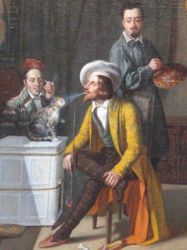Louis Adolphe Menier - Painter workshop