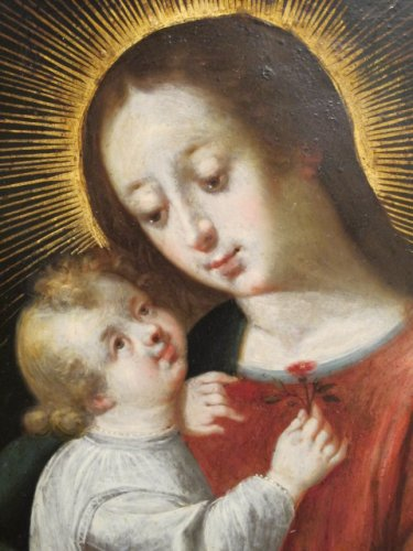 Virgin and Child - Paintings & Drawings Style