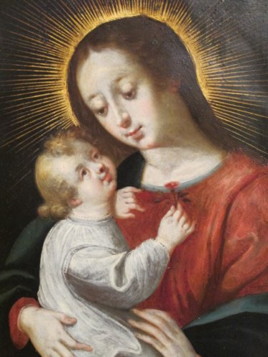 Paintings & Drawings  - Virgin and Child