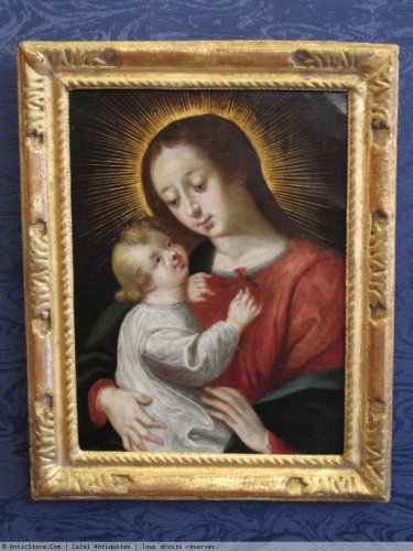 Virgin and Child -