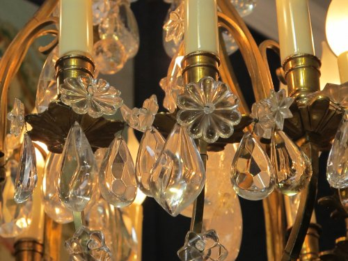Antiquités - A louis xv style ormolu chandelier