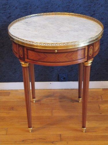 A louis xvi style bouillotte table. napoleon iii period (1848-1870)