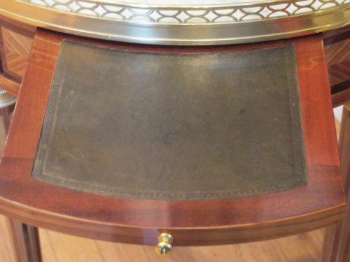 A louis xvi style bouillotte table. napoleon iii period (1848-1870) -