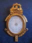 A louis xvi (1774 - 1793) period barometer