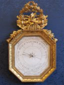 A first empire period (1804 - 1815) barometer.