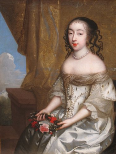Charles Beaubrun (1604 - 1694) - Portrait of Henrietta of England