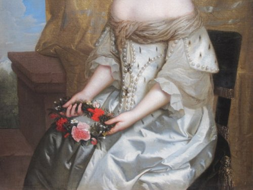 Paintings & Drawings  - Charles Beaubrun (1604 - 1694) - Portrait of Henrietta of England