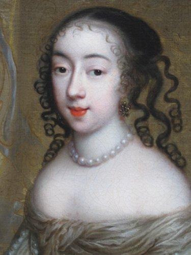 Charles Beaubrun (1604 - 1694) - Portrait of Henrietta of England -