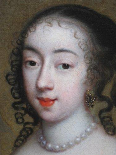 17th century - Charles Beaubrun (1604 - 1694) - Portrait of Henrietta of England