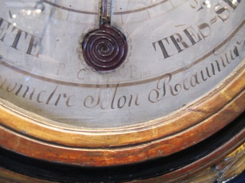 Decorative Objects  - A Louis XVI period (1774 - 1793) barometer - thermometer