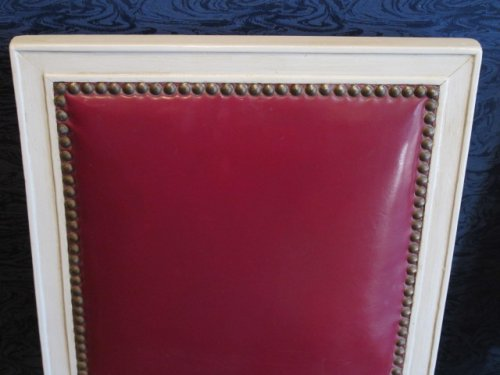 Seating  - A 1st Empire (1804-1815) period pair of lacquered chairs