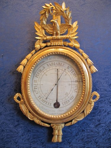 A Louis XVI (1774-1793) period barometer