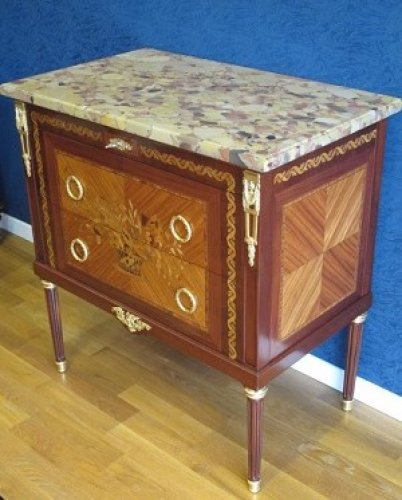 Furniture  - A Napoleon III period (1848 - 1870) commode in Louis XVI style.
