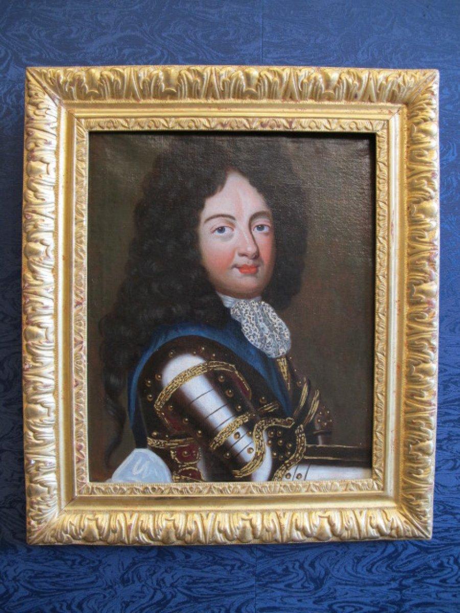 Paire de portraits repr sentant des princes xviie si cle for Miroir des princes