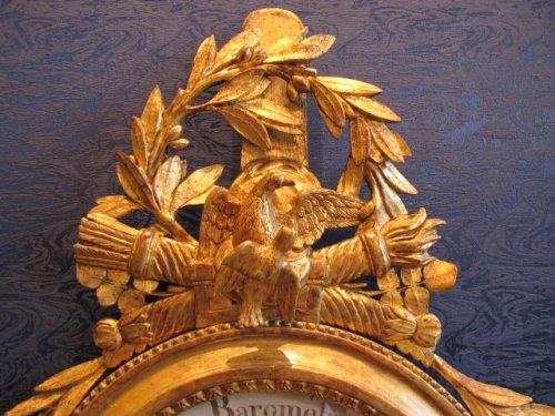 A Louis XVI period barometer - Decorative Objects Style Louis XVI