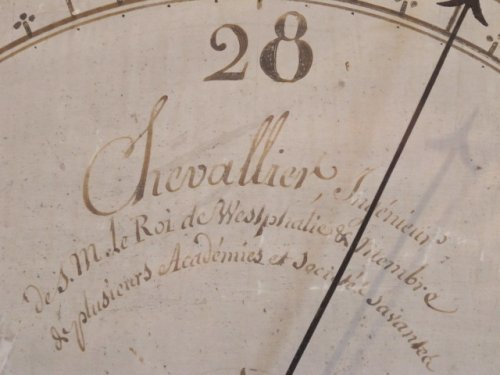 A Louis XVI period barometer -