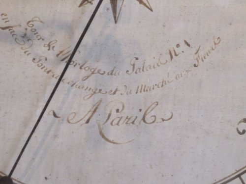 18th century - A Louis XVI period barometer