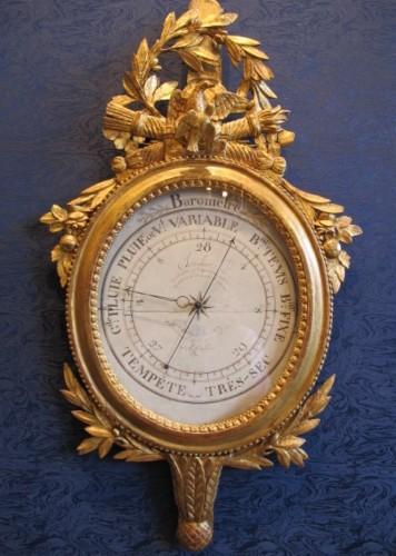 A Louis XVI period barometer - Louis XVI