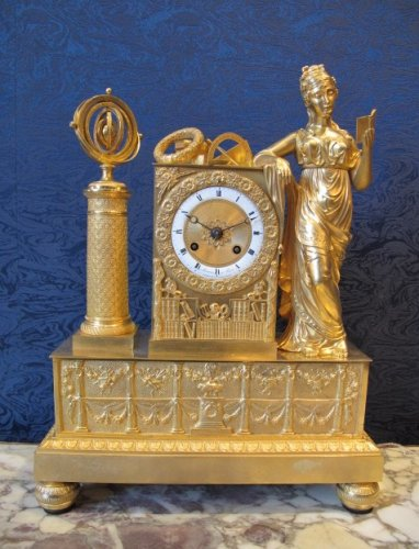 A Restauration period clock